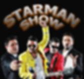 """""""STARMAN SHOW""""    Queen, Pavarotti, George Michael, Robbie Williams... Carlos Starman hace su tributo personal a estos grandes.  Los hits más conocidos y una espectacular y energica puesta en escena.    Tiempo Show: 75min. / 2X45min.  Un componente."""