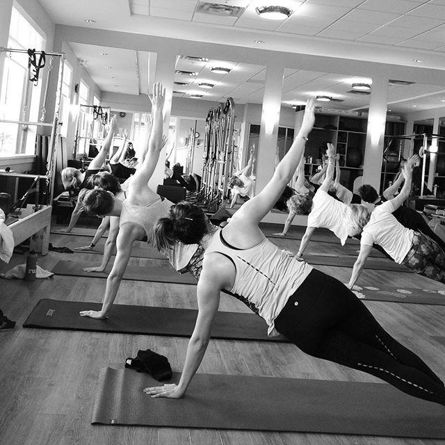 Side Bend Pilates Mat Class