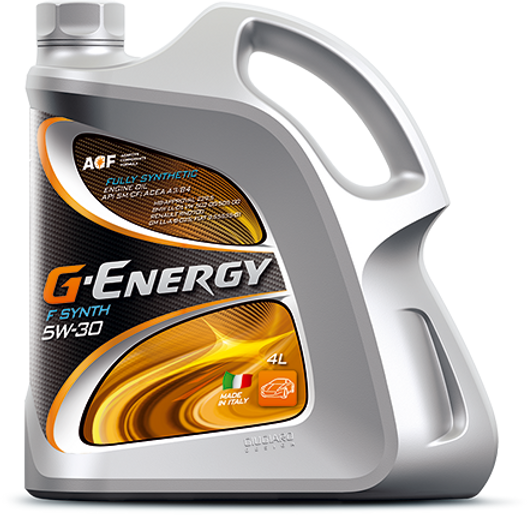 Oily SA G-Energy lubricants