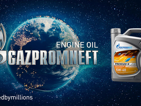 GAZPROMNEFT ENGINE OIL CONSUMERS WILL CREATE AN INTERACTIVE MAP OF GLOBAL USERS
