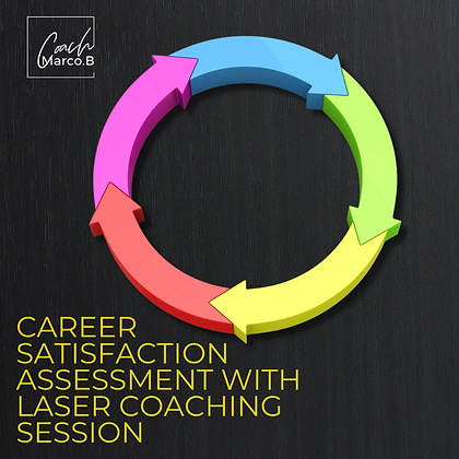 Career Satisfaction Assessment with Laser Coaching Session