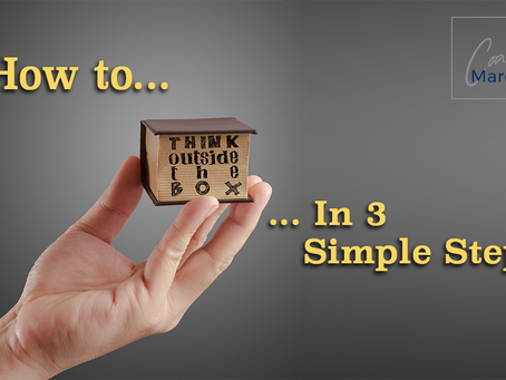 How to Think Outside the Box in 3 Simple Steps
