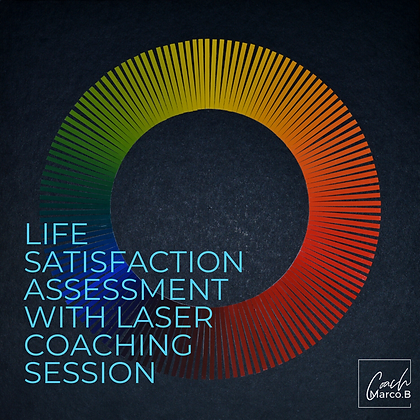 Life Satisfaction Assessment with Laser Coaching Session