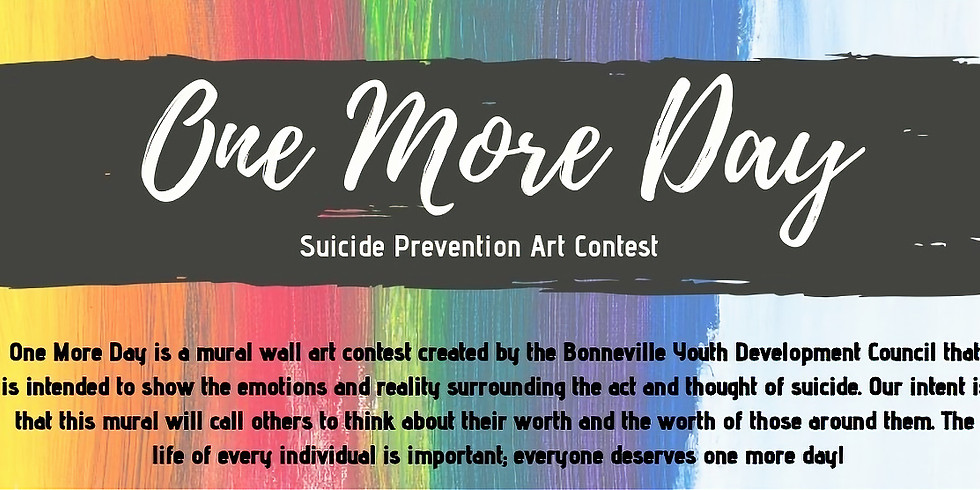 One More Day Mural Wall Art Contest