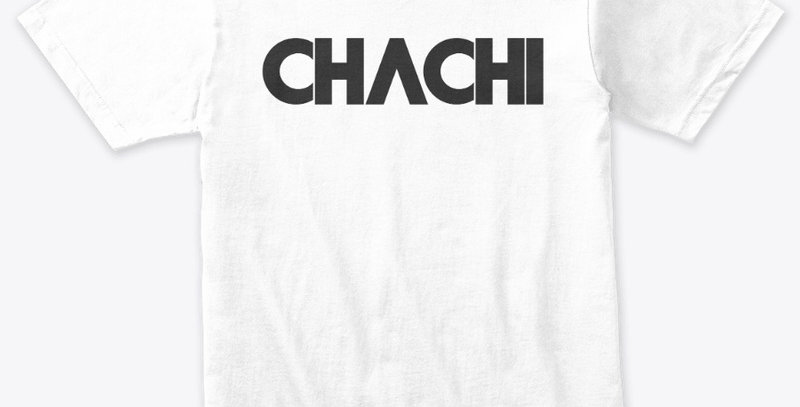 CHACHI Black ink on White