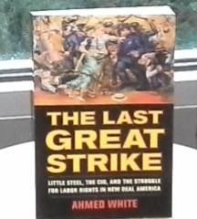 LITTLE STEEL STRIKE HAS FINALLY FOUND A WORTHY HISTORIAN