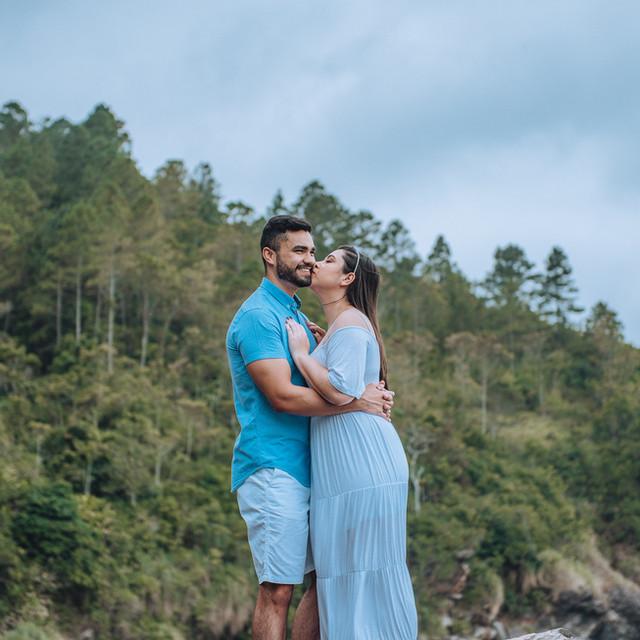 Isa e Marcio - Ensaio praia