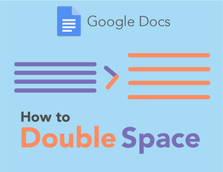 Google Docs: How to Double Space