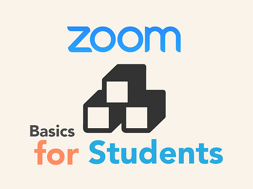 Zoom: Student Success Skills Quick Reference Guide