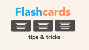 Flashcards: Tips & Tricks - How to Color Code and Use Spatial Recognition
