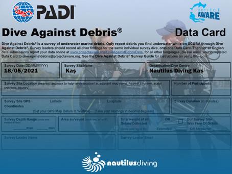 Dive Against Debris / Su Altı Temizlik Dalışı – 18 Mayıs 2021