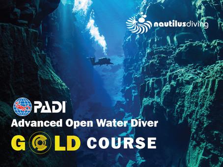 Advanced Open Water Diver Kursu – Gold Paket
