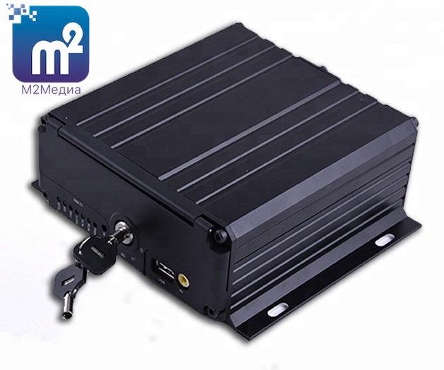"""""""М2Медиа-1080p"""" 8-канальный (ГЛОНАСС/GPS, 3G/4G, WiFi -опционально)."""