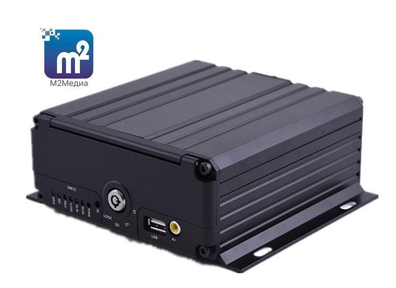 """""""М2Медиа-1080p"""" 4-канальный +1IP (GPS/ГЛОНАСС, 3G/4G, WIFi -опционально)"""