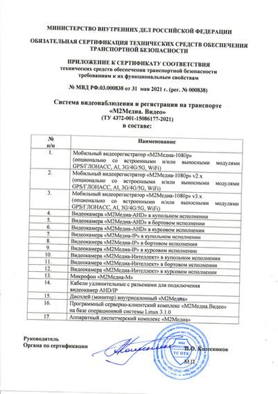 2021-2024 Приложение к сертификату 838 М