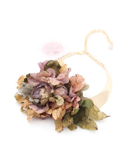 Gargantilla Flores Pastel