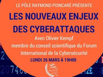 Conférence sur les nouveaux enjeux des cyberattaques