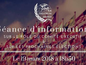 Séance d'information - rôle et élection du CE