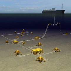 Subsea field layout