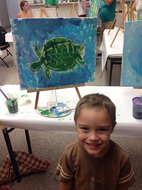 Children's Private Arty Parties