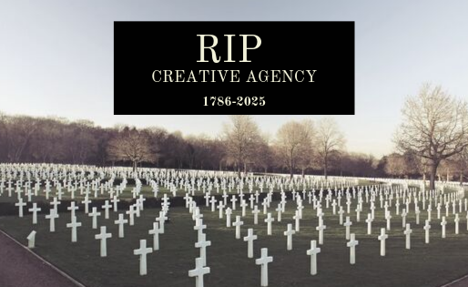 Creative Agencies that don't adapt won't survive