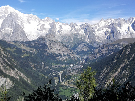 How to hike the Tour du Mont Blanc...in 1000 words