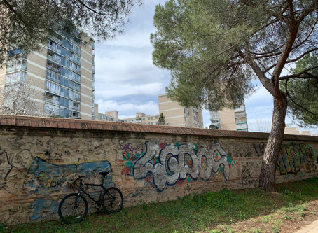 Around Madrid in 64 kilometres