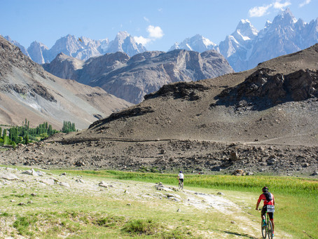 Fancy an adventure triathlon in Pakistan?