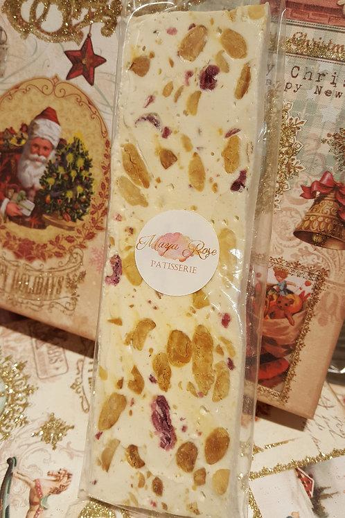Nougat artisanal à la Rose de Grasse