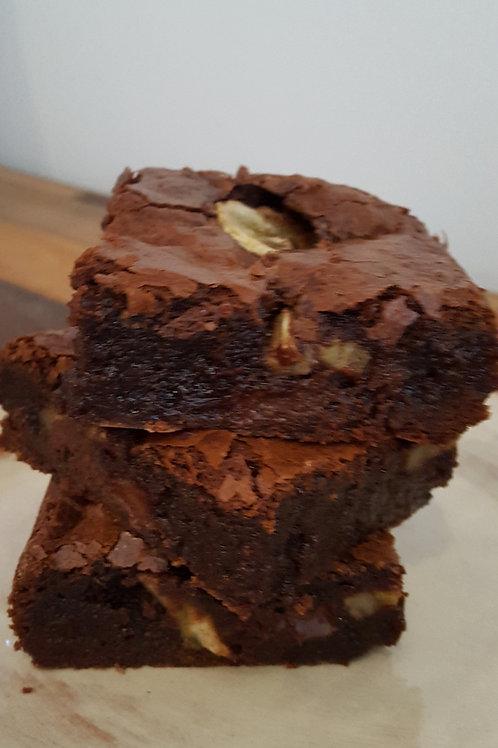 Fudge Brownies Banane Fraîche à partager