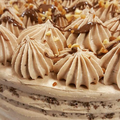Gâteau d'anniversaire 16/20 parts 5 parfums au choix