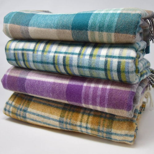 Pure Wool Throws