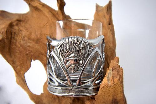 Highland Coo Whisky Tumbler
