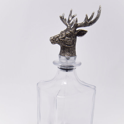 Stag's Head Decanter