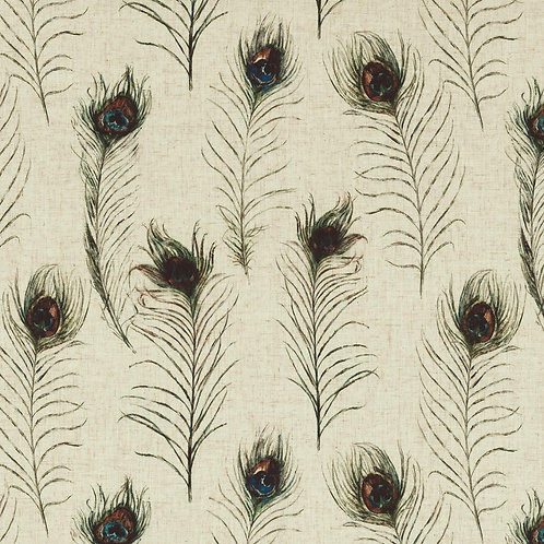 Peacock Feather Linen
