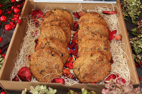 Gourmet Gift Box - Includes Celebrations Book & Soile's Oatmeal Raisin Cookies