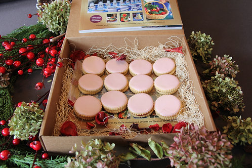 Gourmet Gift Box - Includes Celebrations Book with 12 Sandwich Cookies