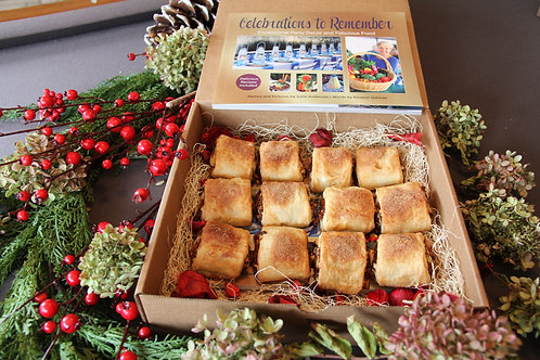 Gourmet Gift Box - Includes Celebrations Book & Rugelach