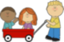 kids-with-wagon-kids-clipart-free-500_33