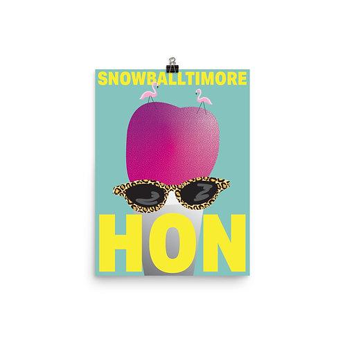 Snowballtimore, Hon! Poster