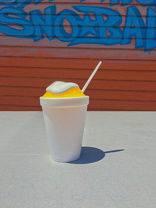 Pina Colada with Marshmallow
