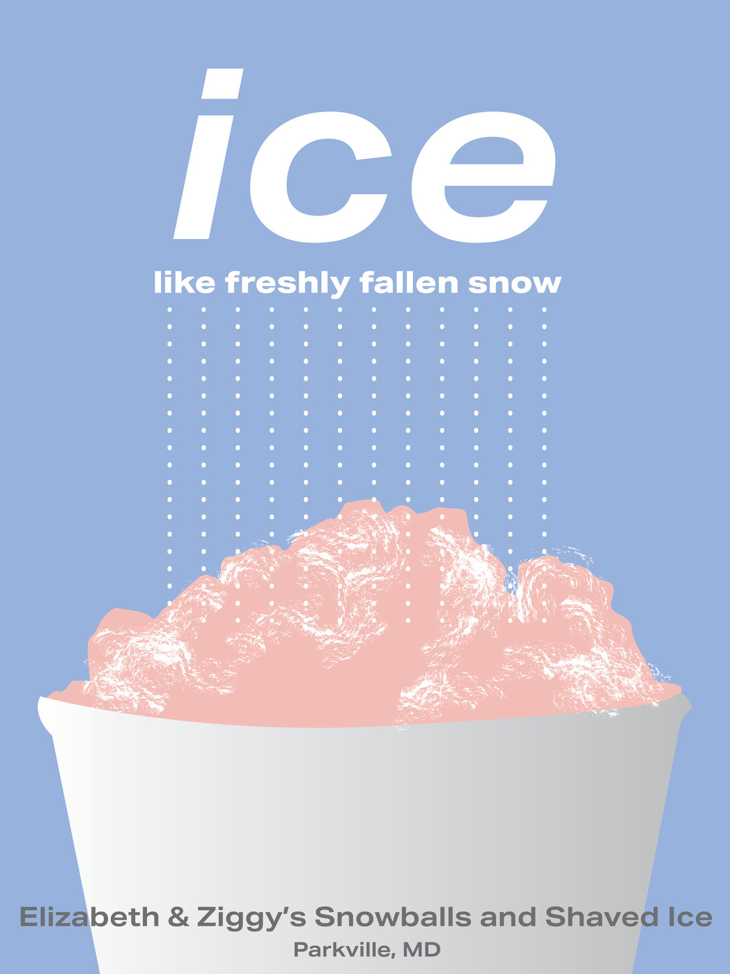 Ice Like Freshly Fallen Snow