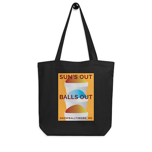 Suns Out Balls Out Eco Tote Bag