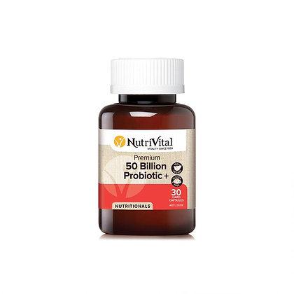 NutriVital - Probiotic 50 Billion