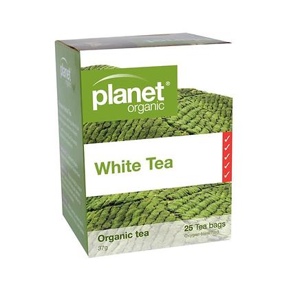 Planet Organic - White Organic Tea 25 Bags