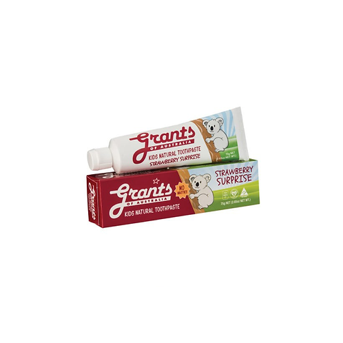 Grants - Kids Strawberry Surprise Toothpaste 75g