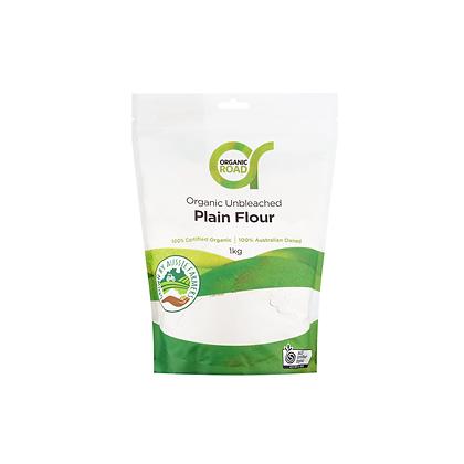 Organic Road - Unbleached Wheat Flour 1kg