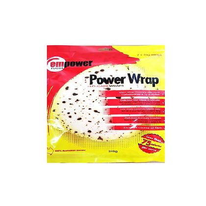 Empower Foods - PowerWrap Lo Carb Wraps 7x35g