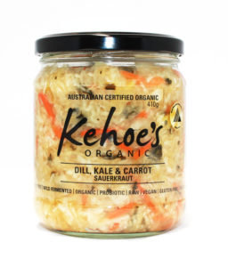 Kehoe's Kitchen - Dill, Kale & Carrot Sauerkraut