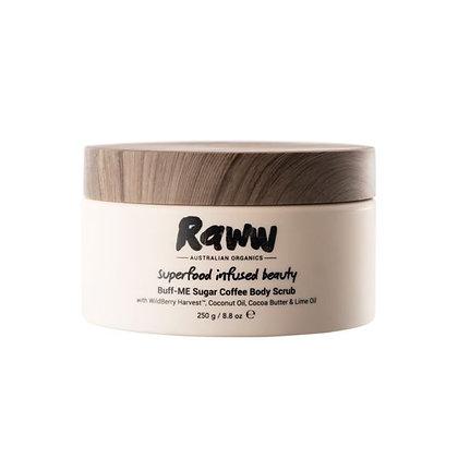 Raww - Buff-ME Sugar Coffee Body Scrub